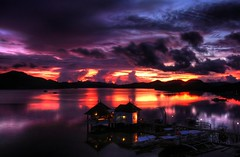 Sunset in Paradise continues... Palawan, Philippines (maciej.ka) Tags: sunset reflection island colorful paradise philippines coron pinoy palawan sunsetinparadise phlipines