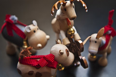 Day 333/365: Still Puzzling (altpers) Tags: reindeer cow donkey puzzle henry cast danny randy hippo celia day333 project365 hanayama 333365 oneobject365daysproject 365toyproject ogear