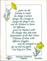 Serenity prayer, extended version: serenity, c...