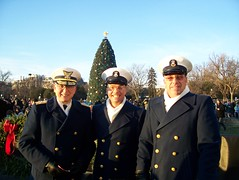 Coast Guard Senior Leadership Team attend National Tree Lighting Ceremony