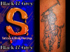 Tattoo Skintastic Art Columbus Georgia  Black & Grey Polo Logo tattoo of polo