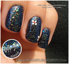 Wet'n'Wild + Sinful Colors (Kondessa) Tags: glitter unhas esmalte importados