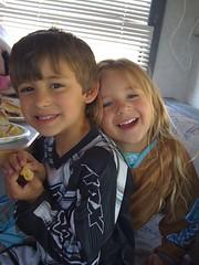 Daisy Sands and Mason Derenard
