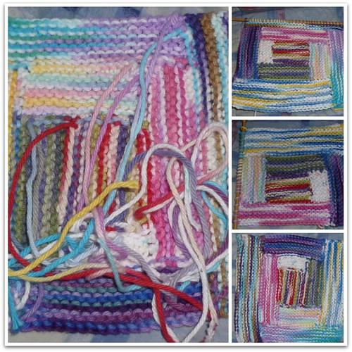 Log Cabin Knitting