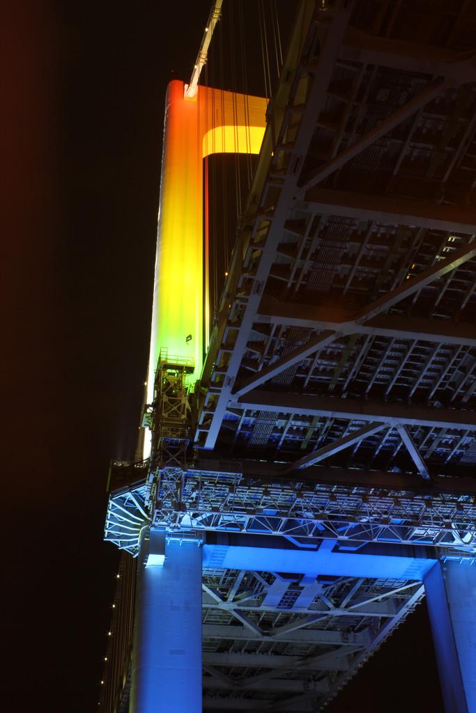 Rainbow bridge illumination 15(TOKYO)