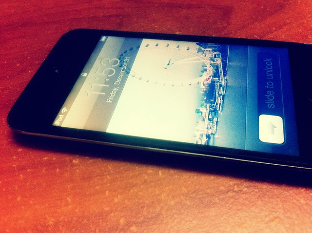 My iPod Touch 4th Gen, my latest love