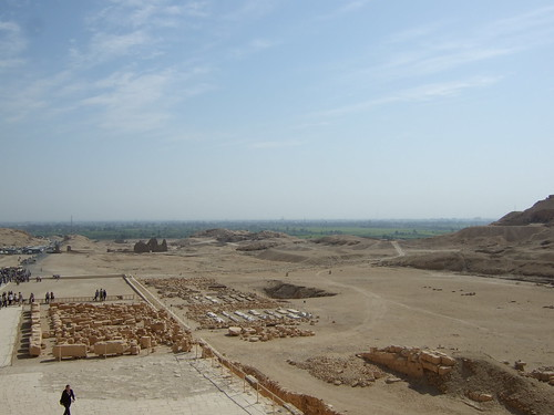 View From Hatshepsut Temple