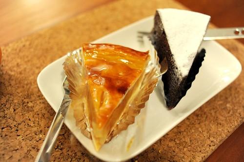 三軒茶屋の洋菓子アーモンドのケーキ