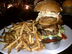 Kitchen Burger (Ron Dollete) Tags: french pepper bacon burger egg rings fries american gras onion habanero foie