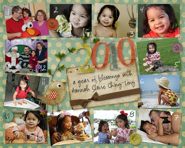2010: a year of blessings