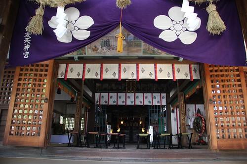 拝殿、佐太天神宮 / Satatenjin-gu Shrine
