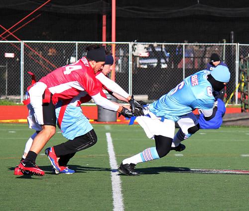 flag football plays 5 on 5. Flag Football Mishap
