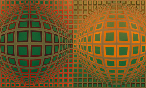 "Victor Vasarely • <a style=""font-size:0.8em;"" href=""http://www.flickr.com/photos/30735181@N00/5323527047/"" target=""_blank"">View on Flickr</a>"