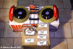 Stoptech Big Brake kit (Mick Doohan) Tags: honda big civic kit acura types bbk typer ep3 rsx stoptech grake