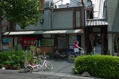 20100801-L9996400 (stranger_than_Tokyo) Tags: street leica old coffee japan river cafe kyoto traditional chineserestaurant kiyamachi