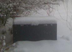 Ein bisschen Schnee ...