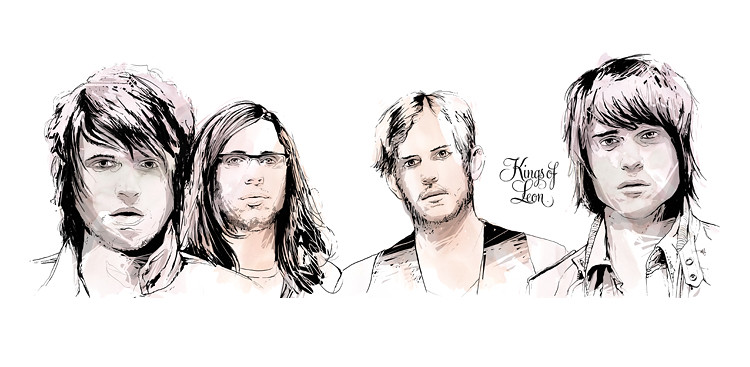 kings of leon - poster