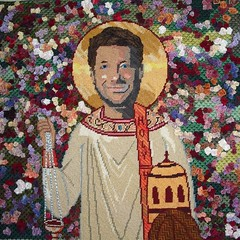 St. Jeffery with a Rose (schinders) Tags: jeffross ststephen gallery1988 isthisthingon funnyordie
