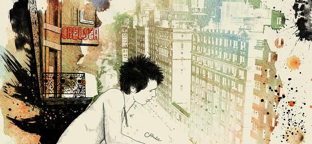 """Sid & Nancy"" Chelsea Hotel"