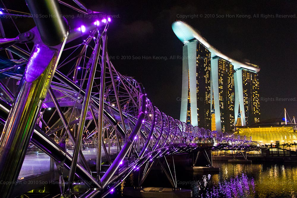 Helix Bridge @ Singapore