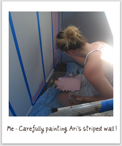 Painting Ari's Striped Wall