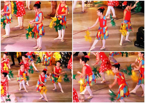 Christmas ballet performance, ballet school Philippines