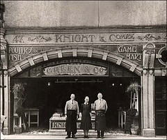 Green and Co, 47 Fisherton Street, circa 1932 (fishfish_01) Tags: pictures new old blue history canal market row historical salisbury boar sarum