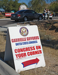 Gabrielle Giffords shooting scene