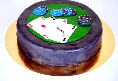 Torta Poker