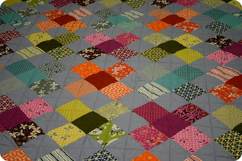 Flower Valley Quilt - quilting