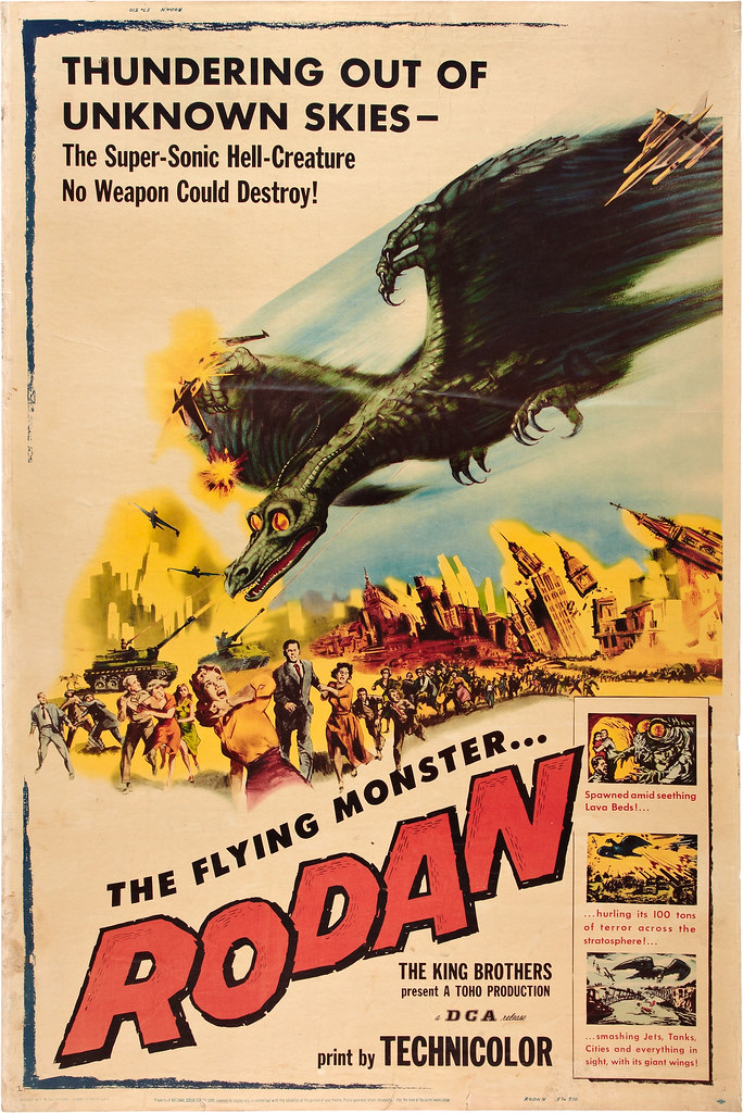 Rodan! The Flying Monster (Toho_ DCA, 1957)