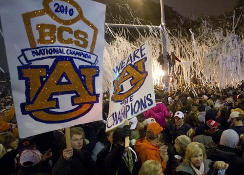 BCS Auburn Reax Football
