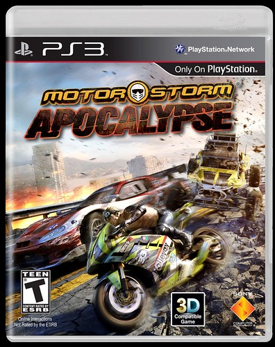 MotorStorm Apocalypse: Cover Art...And A LAUNCH DATE!