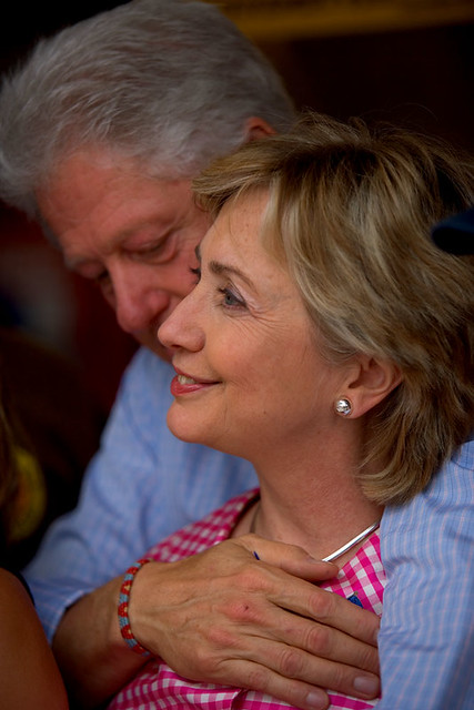 Hillary And Bill Clinton : State Fair : New York by jezblog on Flickr