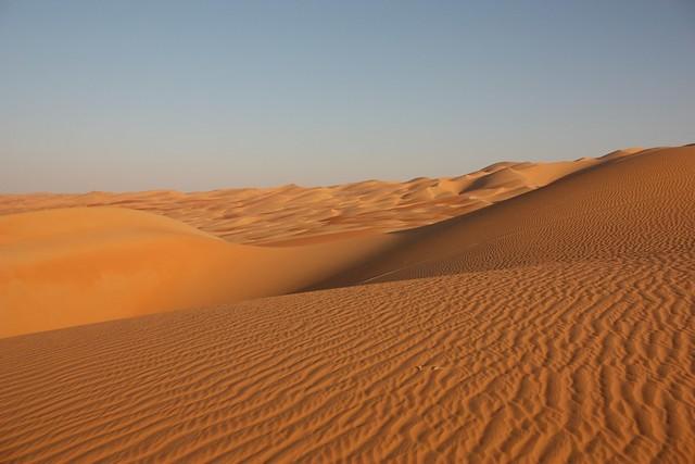 Liwa desert, Abu Dhabi almost Saudi Arabia