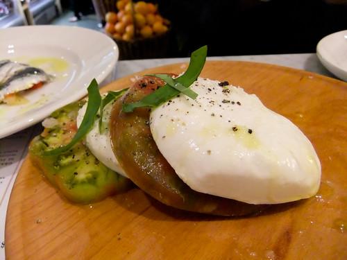 Caprese Salad, La Piazza, Eataly