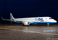12 | 365 - Flybe E195, G-FBED (vaughaag) Tags: project airport european day minolta aircraft aviation sony january mini international beercan exeter planes british 365 12 a200 12th f4 2011 flybe 3570 e195 flickraward gfbed 3652011 2011365