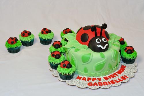 Ladybug Cake and Cupcakes 3 - DSC_0161sm