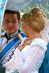 Cinderella and Prince Charming (abelle2) Tags: canon princess prince disney parade disneyworld cinderella wdw waltdisneyworld magickingdom princecharming christmasparade disneyprincess disneyprince princesscinderella mickeysonceuponachristmastimeparade