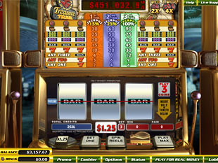 Treasure Trail slot game online review