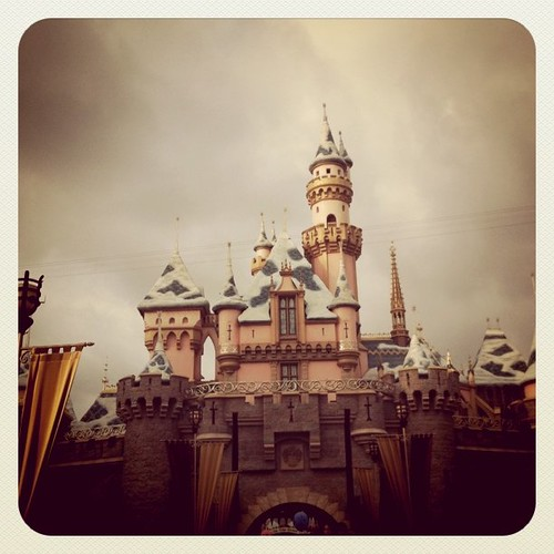 A photo of the castle @Disneyland from a few weeks ago.