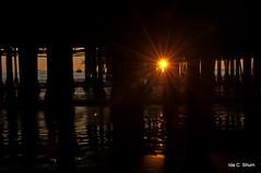 Under the Pier (idashum) Tags: ocean california sunset sun beach water silhouette photography pier sand waves pacific santamonica silhouettes pacificocean santamonicapier ida shum idashum idacshum