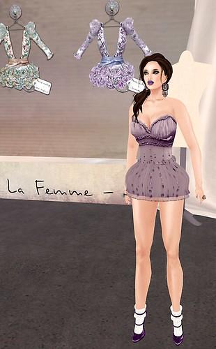 2a La Femme Baroque petite fille Lavande