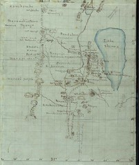 David Livingstone's Map of Lake Malawi, Africa