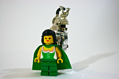 Coral and Siercon (Siercon and Coral) Tags: castle coral lego fantasy moc afol forestman forestmen forestwoman siercon
