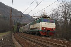 """Treno degli Zar con una """"Zarina"""" (Maurizio Zanella) Tags: italia trains railways fs alessandria trenitalia treni pkp ferrovie rigoroso rzd e444r112 trenodeglizar exp13017"""