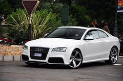 Audi RS5 (AxelVeraartPhotography) Tags: world white hot sexy cars car square grey nikon harbour super f1 ferrari casino montecarlo monaco german audi rims formule1 rs supercar vr 18105 carspotting d90 hoteldeparis rs5 veraart axl axlveraart