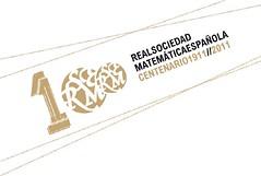 Logo del Centenario de la RSME