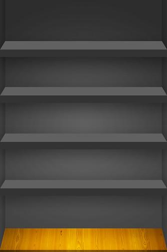 4 Shelf Iphone Wallpaper Black A Photo On Flickriver