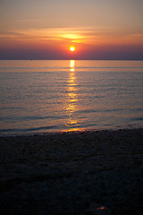 Long Island sunset (DaveMosher) Tags: sunset sun beach water longislandsound